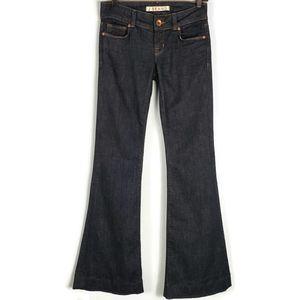 J Brand Love Story flare jean size 24